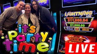 🔴 LIVE Girls Night Out 💃💃 Live Casino slot play 🎰🎰