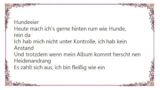 Kitty Kat - Mach Keinc Faxen Lyrics