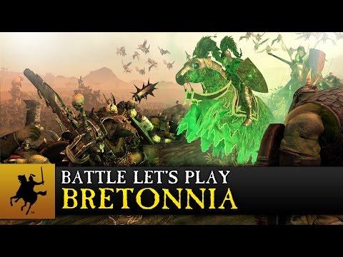 Total War: WARHAMMER - Bretonnia - Battle Let's Play - Sword Of Couronne