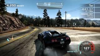 """NFS Hot Pursuit 2010 """"Seacrest Tour"""" 11:41.30 - Bugatti Veyron 16.4 Coupe -"""