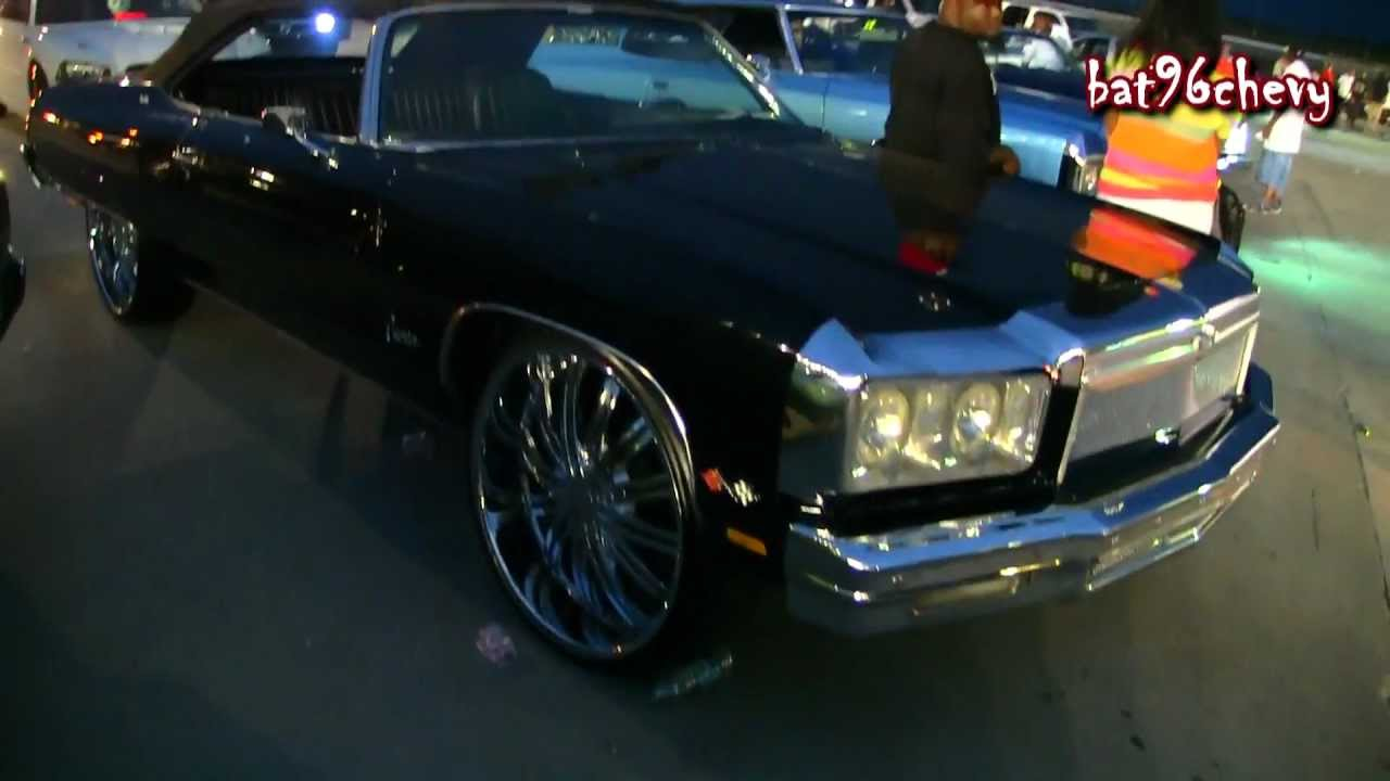Black 75 Chevy Caprice Donk Vert On 26 Quot Rims 1080p Hd
