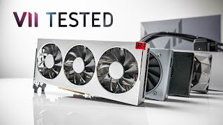 7nm Radeon VII Performance Review — Gaming & Rendering vs. RTX 2080!