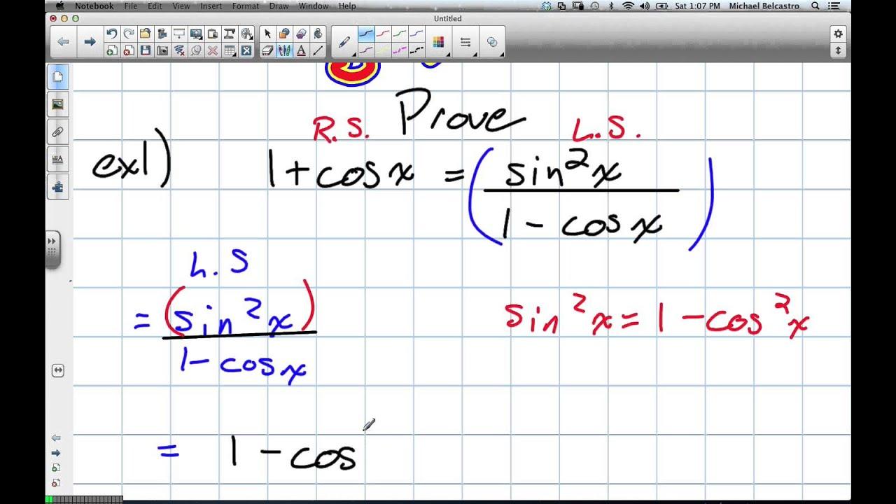 worksheet Grade 12 Trigonometry Worksheets trigonometric identities grade 12 advanced functions lesson 7 4 11 24 12