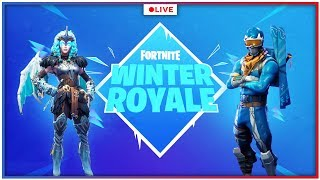 WINTER ROYALE QUALIFIERS (EU) - Fortnite Battle Royale | PS4 Pro Gameplay