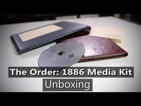 The Order: 1886 Media Kit & Fan Letters Unboxing