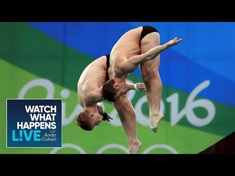 Olympic Diver David Boudia Gets A Special Celebrity Shoutout In Rio | WWHL