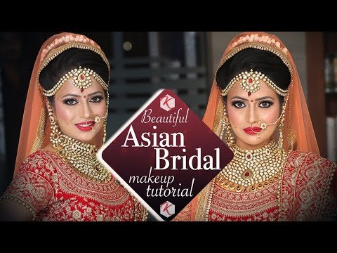 Beautiful Asian Wedding Makeup Tutorial