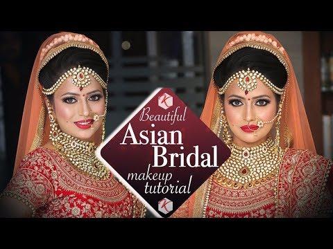 Beautiful Asian Wedding Makeup Tutorial