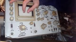 осциллограф с1-55. Обзор, характеристики, как пользоваться. Часть первая