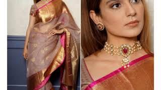 Kangana Ranaut's saree collection