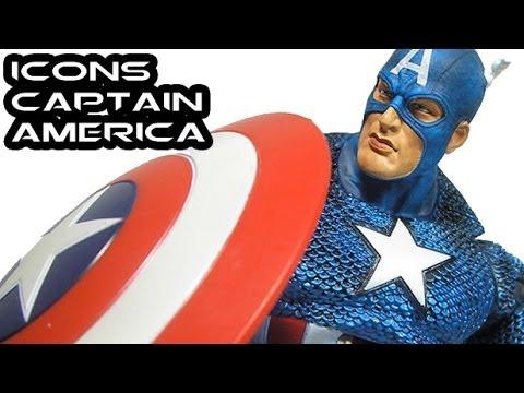Marvel Legends Icons CAPTAIN AMERICA Figure Review