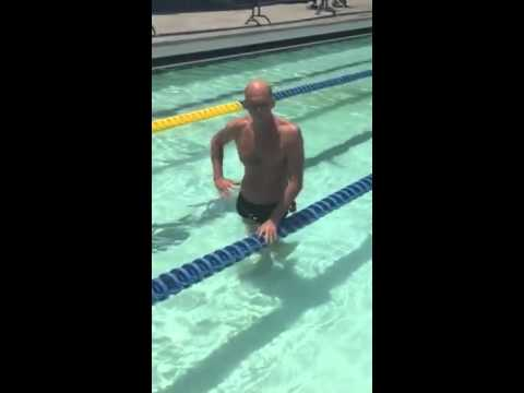 Swimming with Rowdy Gaines