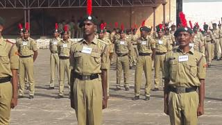 Ncc c certificate drill demo by kiet ncc cadets