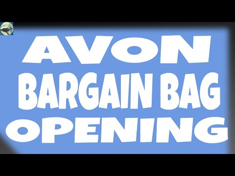 AVON BARGAIN BAG OPENINGS