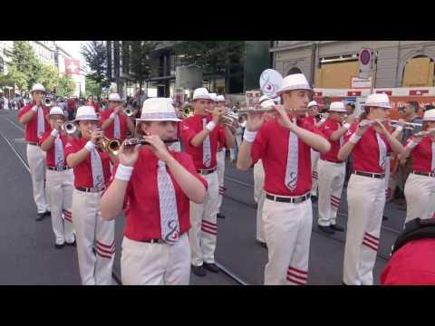 Welt Jugendmusik Festival Zürich  -  Festumzug 2017