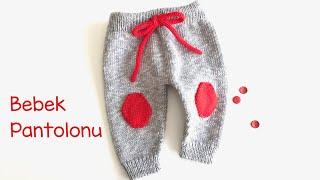 Bebek Pantolunu / Örgü Pantolon Yapılışı / Yenidoğan Pantolonu / How to knit baby trousers?