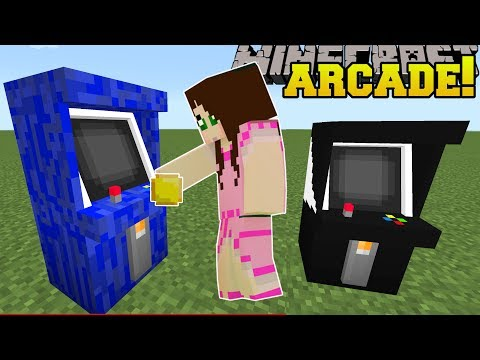 Minecraft: ARCADE MACHINES!!! (PLAY SNAKE & TETRIS IN MINECRAFT!) Mod Showcase