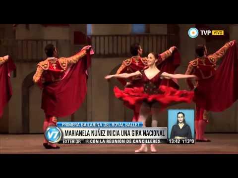 Visión 7 - Marianela Núñez inicia una gira nacional