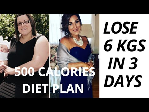 500 CALORIES DIET PLAN| HOW TO LOSE 6 KGS IN JUST 3 DAYS����|FAT LOSS PLAN��|