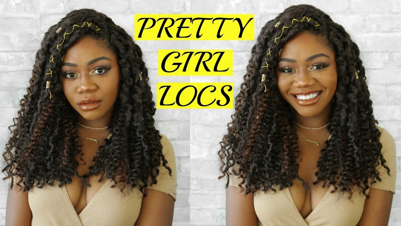Curly Bohemian Goddess Faux Locs Step By Step Tutorial