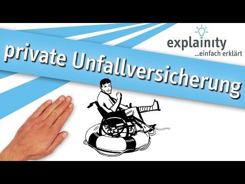 Die Private Unfallversicherung Einfach Erklärt (explainity® Erklärvideo)