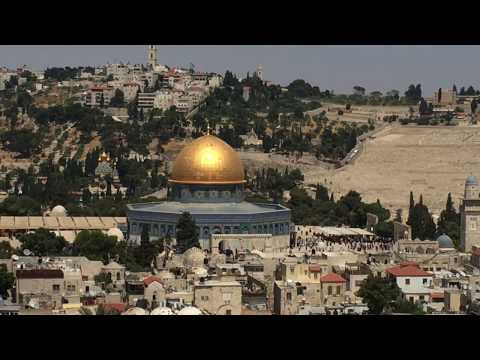 AERIAL VIEW OF OLD CITY OF JERUSALEM - Biblical Israel Ministries & Tours