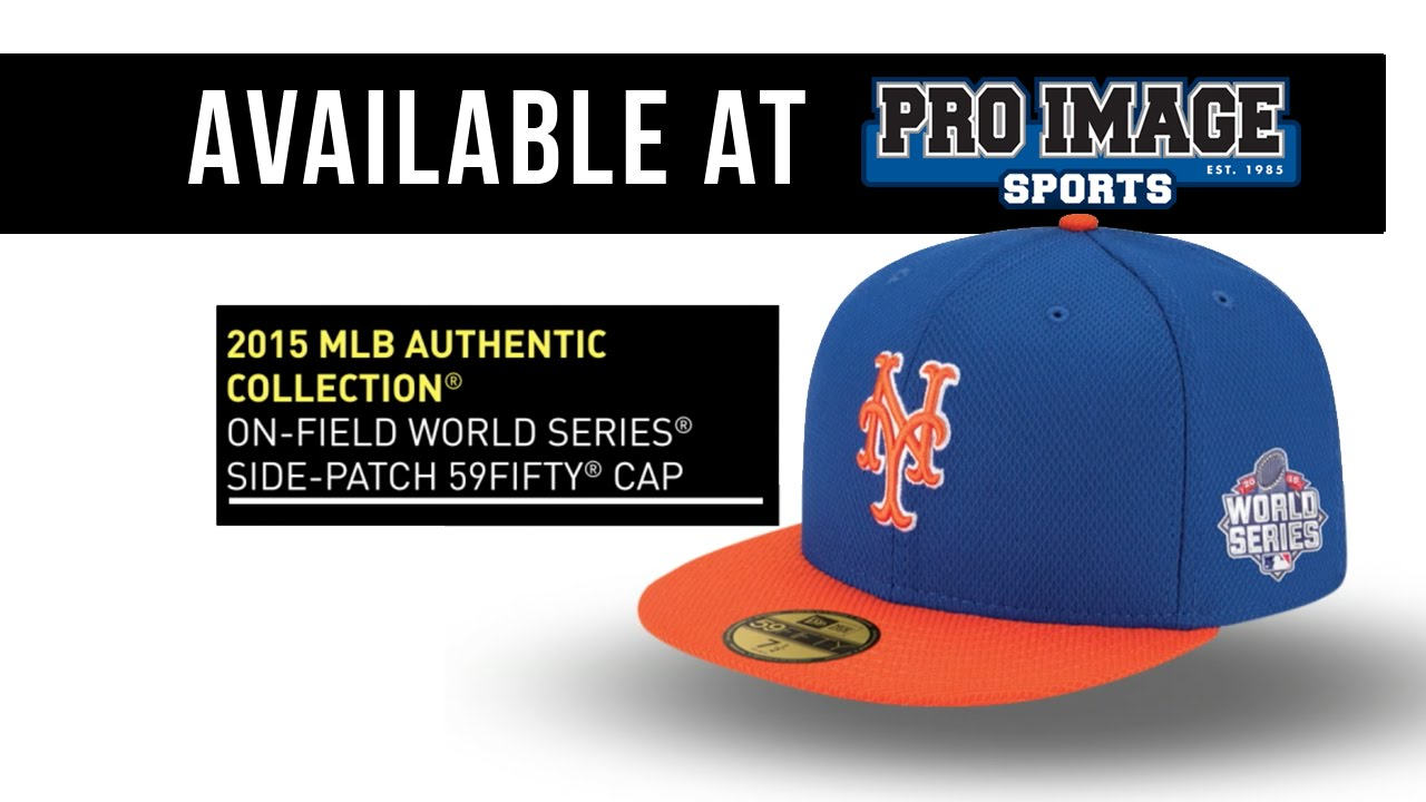 2015 New York Mets World Series Hats - YouTube 5bc81a958a5