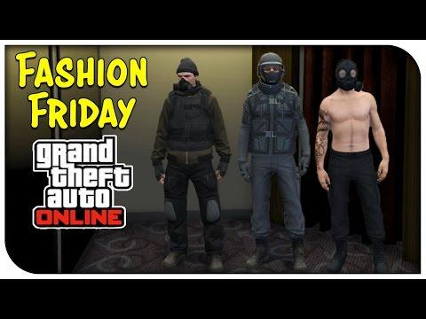 GTA 5 Online - FASHION FRIDAY! (Stealth Steel, Apocalyptic Maniac & The Division) [GTA V]
