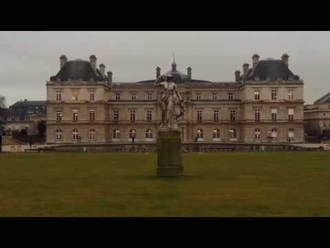 Luxembourg Palace Paris. France