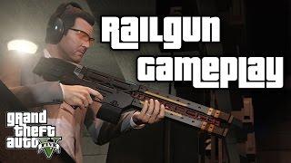 GTA 5 Next Gen | RAILGUN GAMEPLAY | DIE NEUE HYPER WAFFE | GTA V PS4 Deutsch