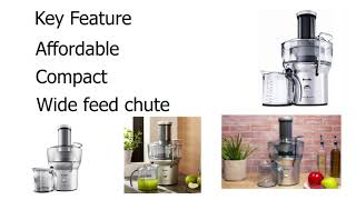 Best Juicer - Top 5 Reviews & Buying Guide | 2019