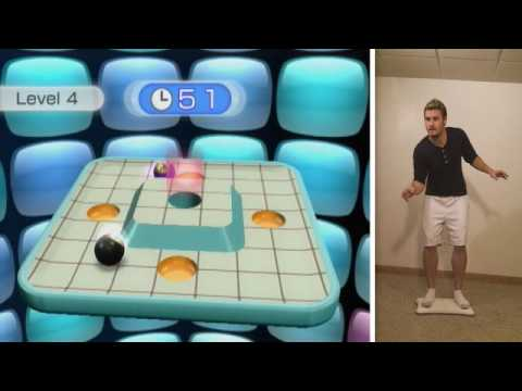 Gameplay - Wii Fit Plus (Marble Balance)
