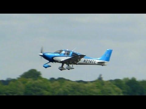 Cirrus SR22 GTS ► Takeoff - Landing - Trackback ✈ Groningen Airport Eelde