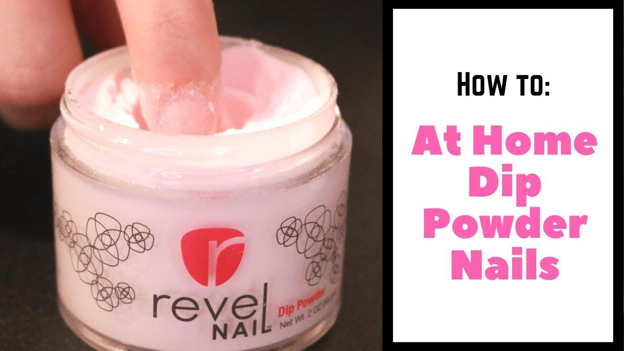 At home dip powder nails tutorial revel nail kit youtube at home dip powder nails tutorial revel nail kit solutioingenieria Choice Image