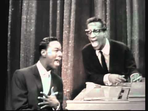 Funny Video of Sammy Davis, Jr. Impersonating Nat King Cole as They Sing a Duet