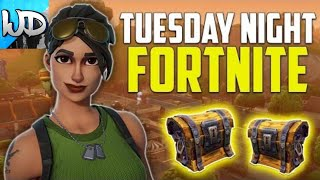FORTNITE BATTLE ROYALE (600 SUBS GIVEAWAY!) PLAYING WITH SUBS - FORTNITE TUESDAY