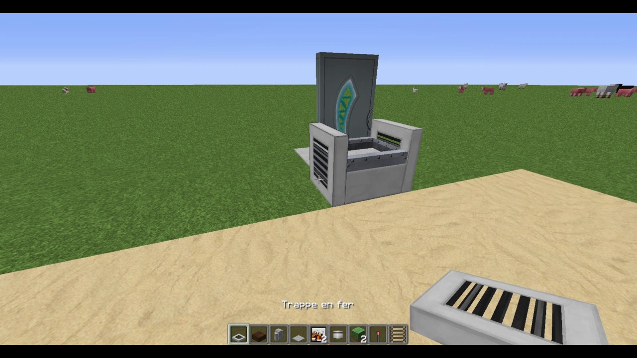 Minecraft tuto d co comment faire une chaise ou on peut for Fabriquer une chaise