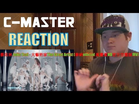 蔡依林 Jolin Tsai - 大藝術家The Great Artist (華納official 高畫質HD官方完整版MV) REACTION! FREAKING LOVE IT!