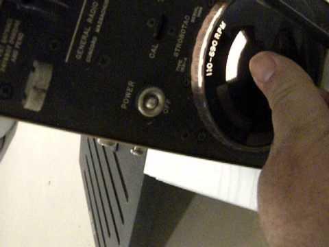 STROBOTAC BY GENERAL RADIO COMPANY