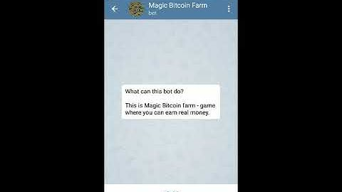 Magic Bitcoin Farm