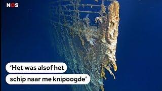 Spectaculaire nieuwe beelden Titanic gemaakt door avonturier