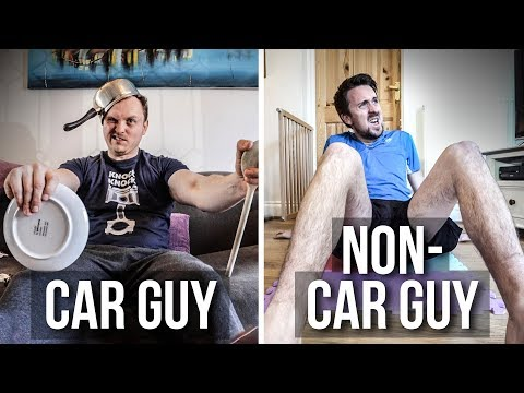 Car Guys Vs Non-Car Guys: Stuck At Home