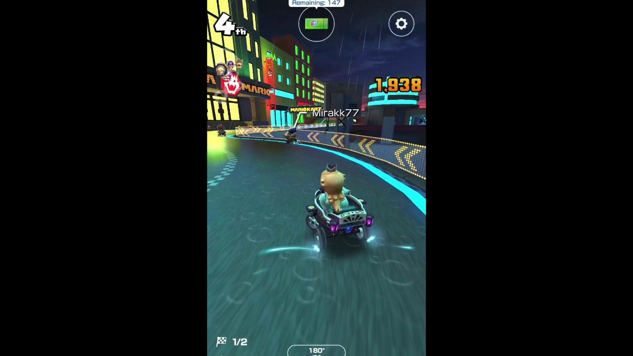 Mario Kart Take Out 5 Traffic Cones Youtube