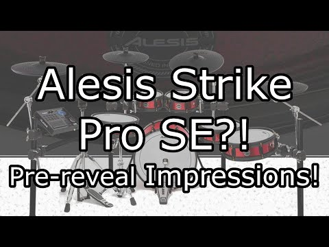 Alesis Strike Pro Special Edition?! - Pre-reveal early impressions | The eDrum Workshop