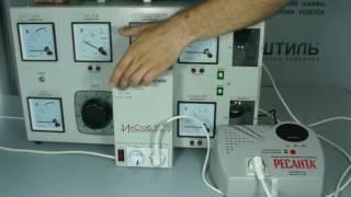видео инверторный стабилизатор напряжения