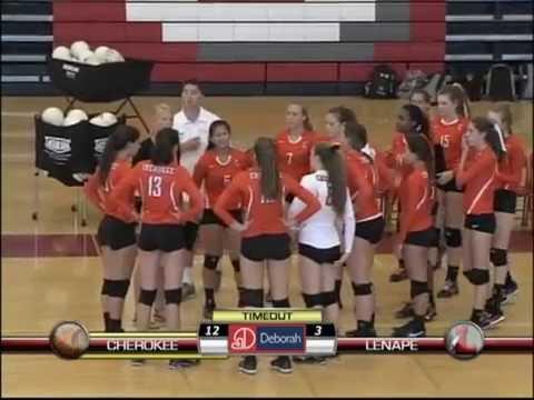 LDTV Sports: Cherokee @ Lenape Volleyball 9/12/16
