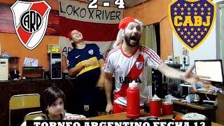 River Plate 2 Boca 4 - Desde el Hincha de River y de Boca - fecha 13 - Reacciones -