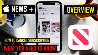 Apple News Plus Overview & How to Cancel Subscription
