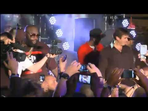 Rick Ross Brings Out Magician David Copperfield During
