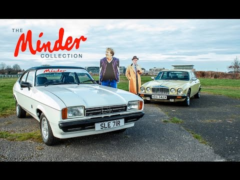 'The Minder Collection' - 1977 Ford Capri & 1981 Daimler Sovereign